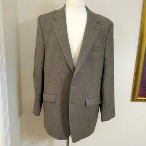Izod Sports Coat Herringbone